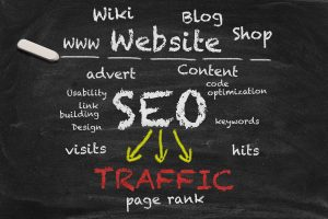 SEO generate traffic - page rank